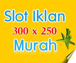 PASANG IKLAN BANNER 300 x 250