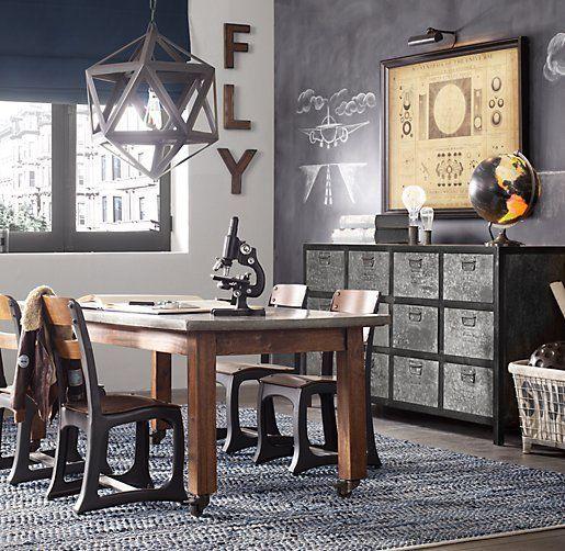10 ambientes con decoraci n industrial y vintage decoraci n - Decoracion vintage industrial ...