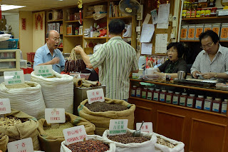 Spice shop in Hong Kong