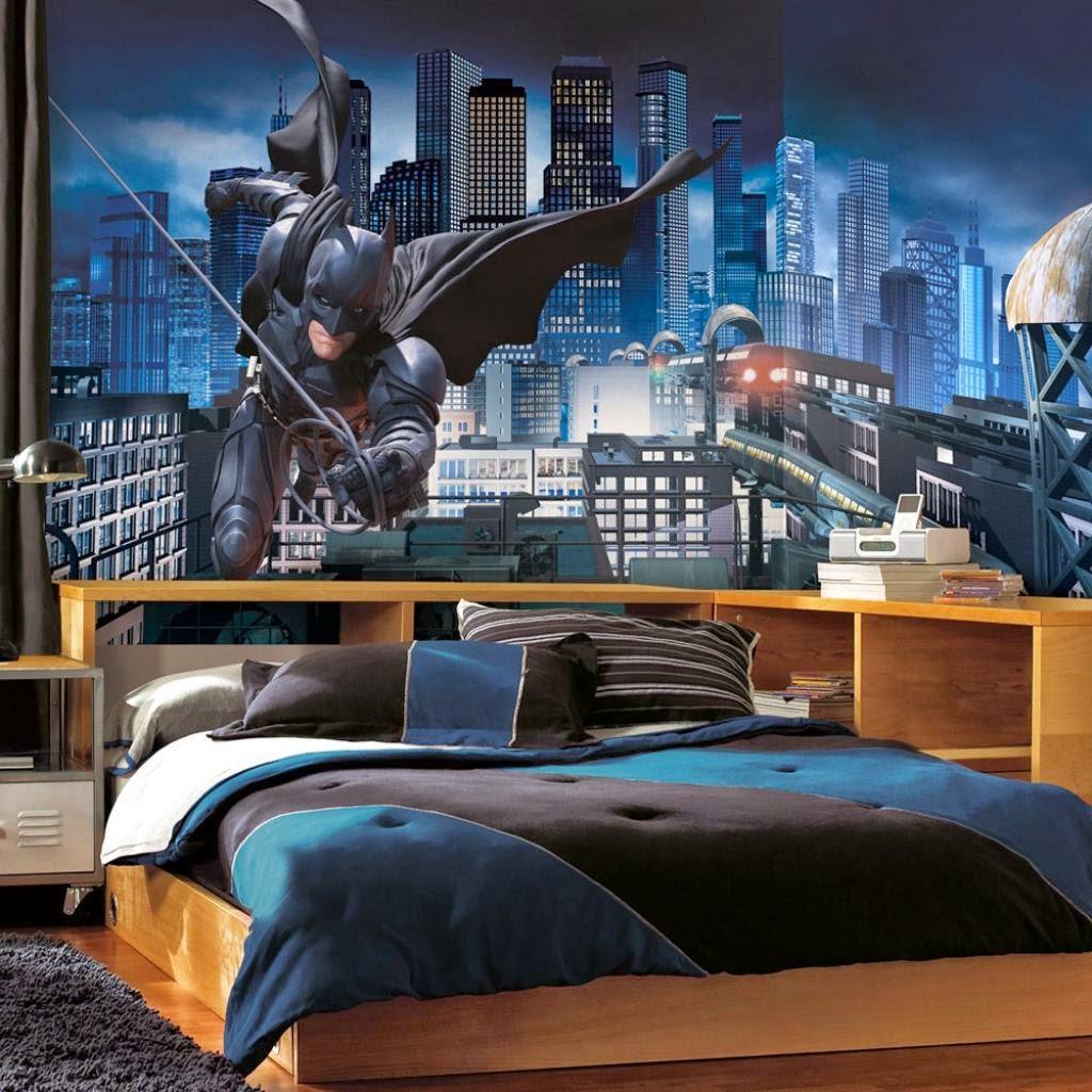 Cool Batman Boy Bedroom Idea Design Ideas