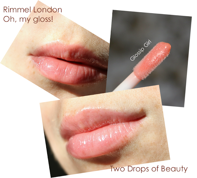 Oh, my gloss! от Rimmel glossip girl swatch