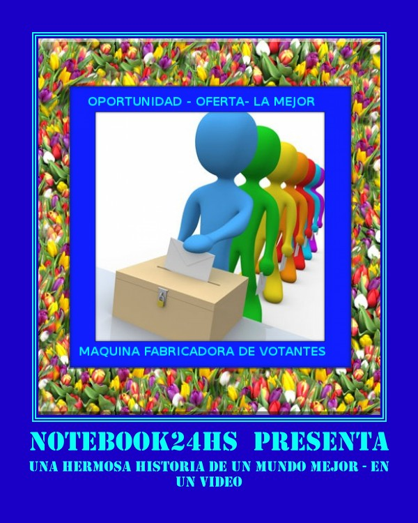 NOTEBOOK24HS PRESENTA UN TIERNO Y HERMOSO VIDEO