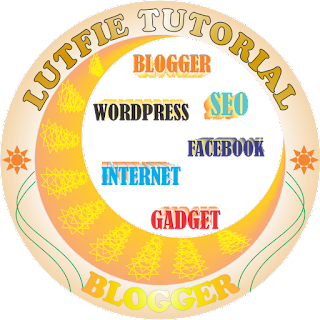 logo lutfie tutorial blog seo wordpress