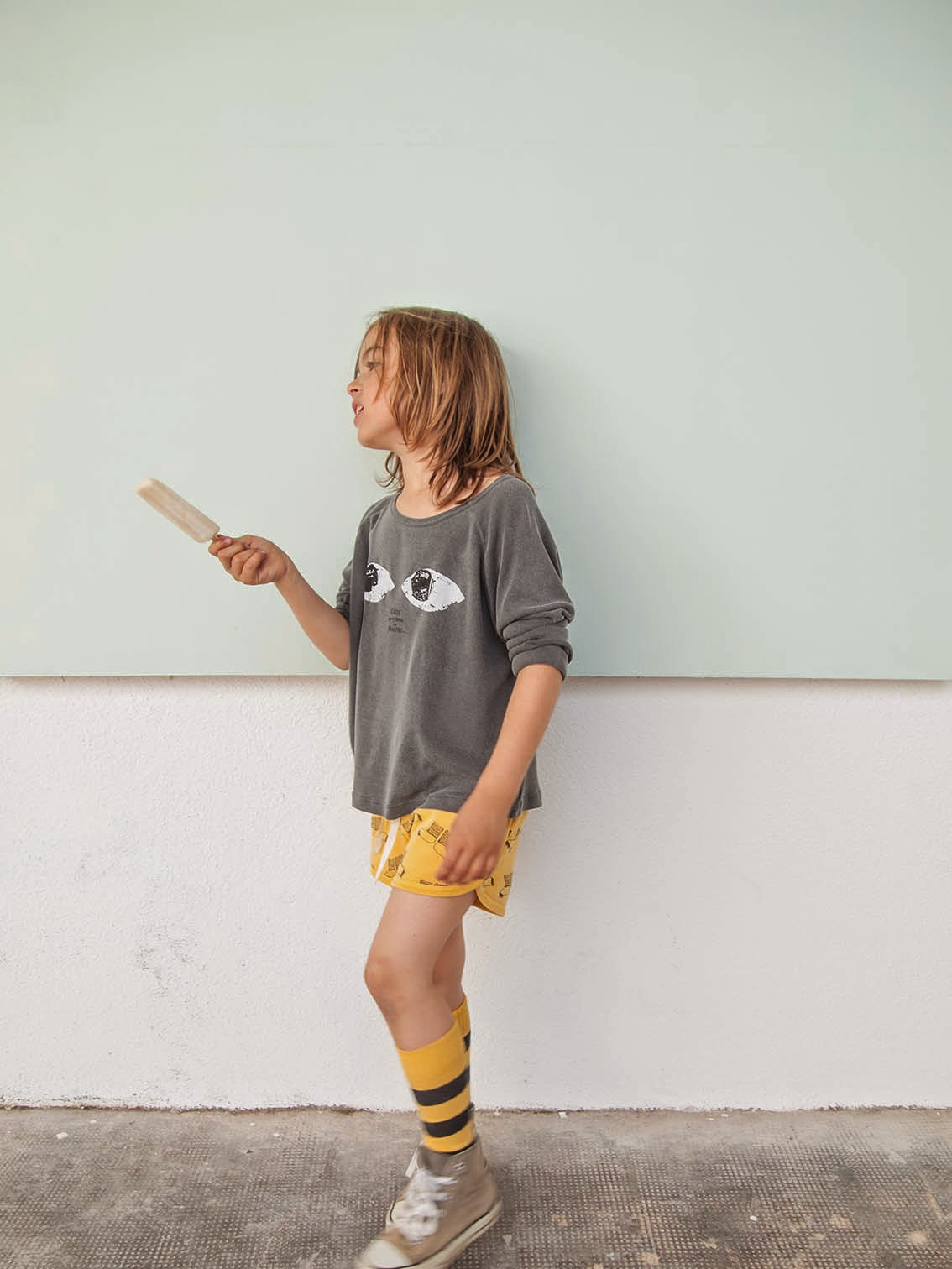 Bobo Choses Spring-Summer 2015 - eyes sweat and monster feet