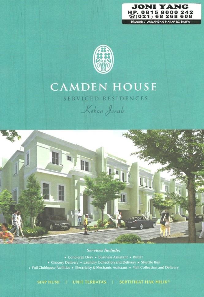 Camden house jakarta for Camden home