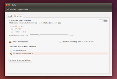 How to enable locally integrated menus (LIM) on ubuntu 14.04 LTS Trusty Tahr