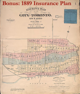 Click to browse the 1889 Insurance Plan of Toronto