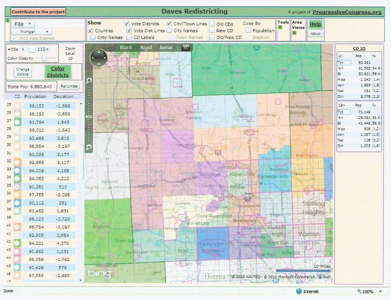 Ratings And Descriptions For The Map: 26 Safe D [royal Oak, Madison  Heights] 27 Safe D [oak Park, Ferndale, Hazel Park]