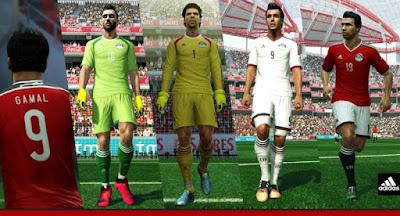 PES 2013 Egypt 2015-2016 Kits Update By Abdallah El Ghamry