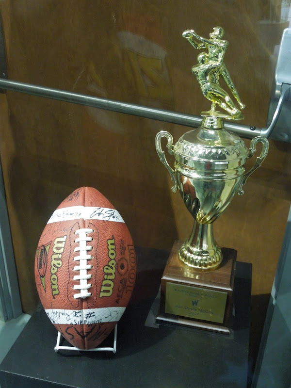 Friday Night Lights football trophy props