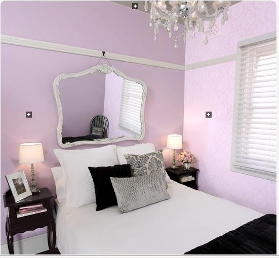 Lilac Or Turquoise For An 8 Yr Old´s Bedroom?