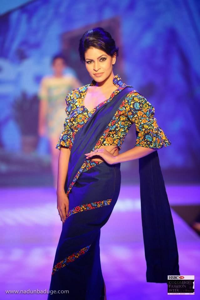muthu saree hot