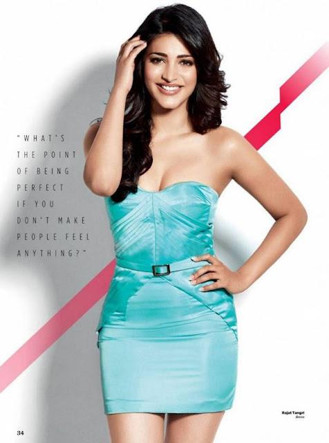 Shruti Hassan Hot Photoshoot for WHM 2015