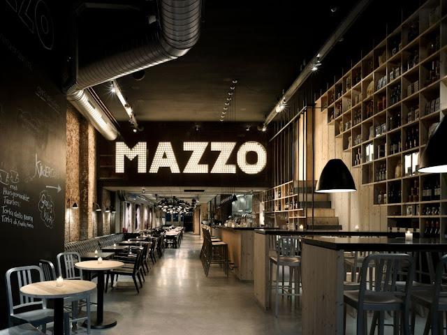mazzo amsterdam restaurant interior design
