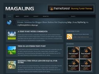 Magaling Blogger Template