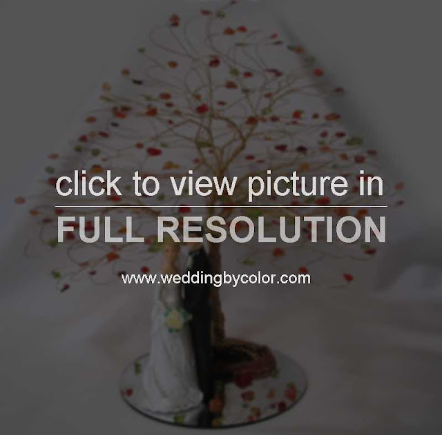 Autumn Wedding Cake Toppers8