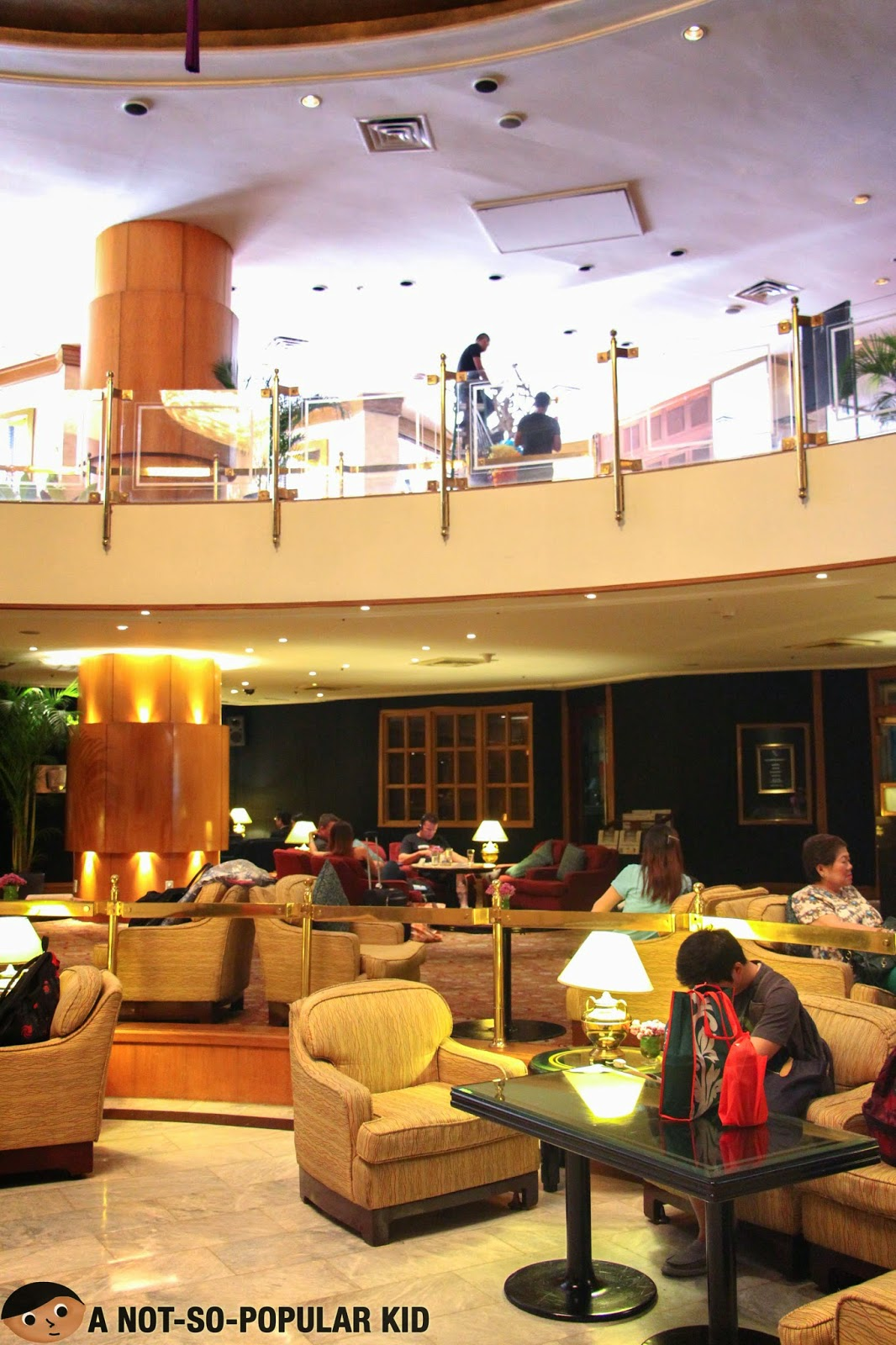 Lobby of Mandarin Oriental Hotel