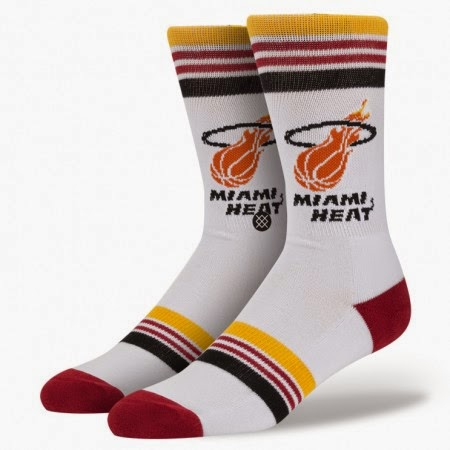 Miami Heat NBA Socks