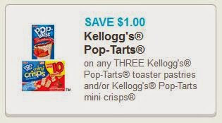Kellogg's Pop-Tart Coupon