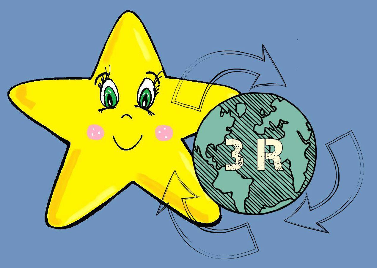Las 3R: reducir, reutilizar y reciclar ~ Shooting Star Manualidades