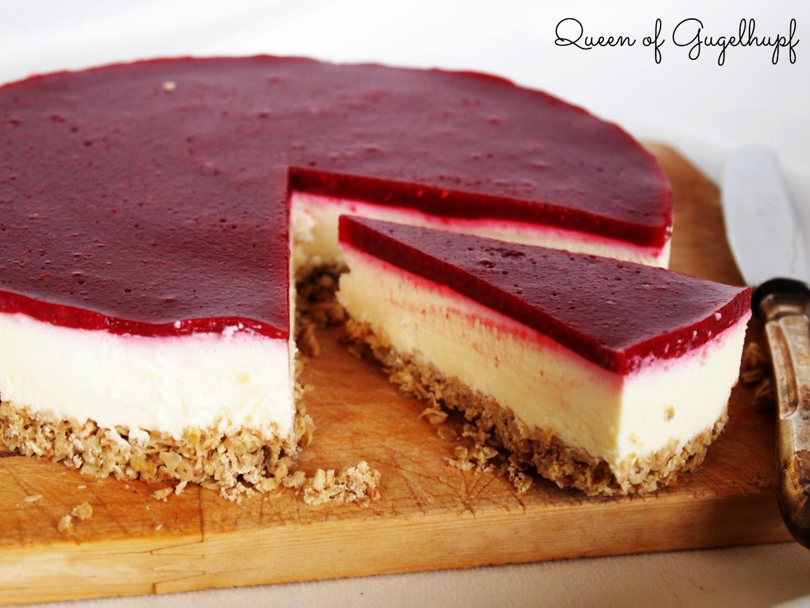 White Chocolate Raspberry Cheesecake No Bake Baking Charlotte