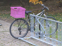 Bike basket hack