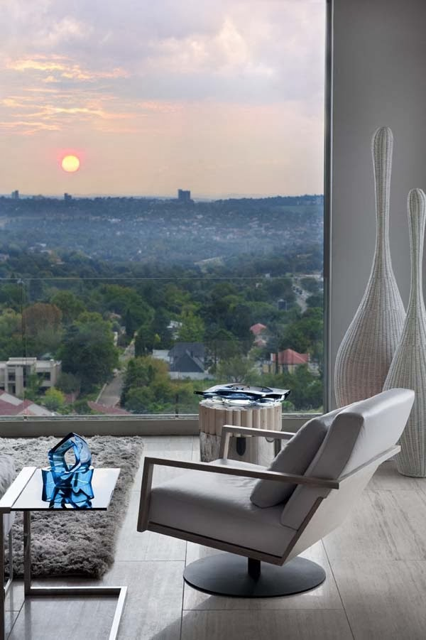 Penthouse apartment sandhurst johannesburg luxury for Apartment plans south africa