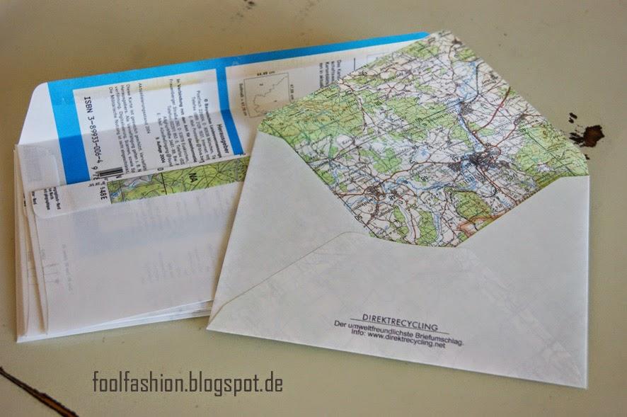 müllfrei Briefe verschicken mit Direktrecycling Briefumschlägen