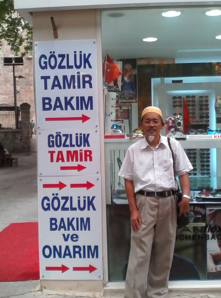 I love Turkiye""