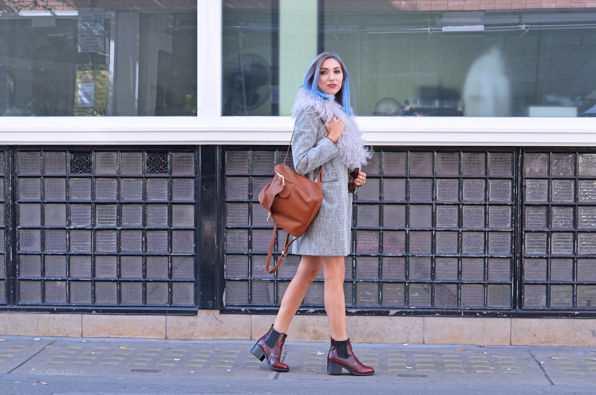 London Fashion Week Outfit on Rock On Holly blog