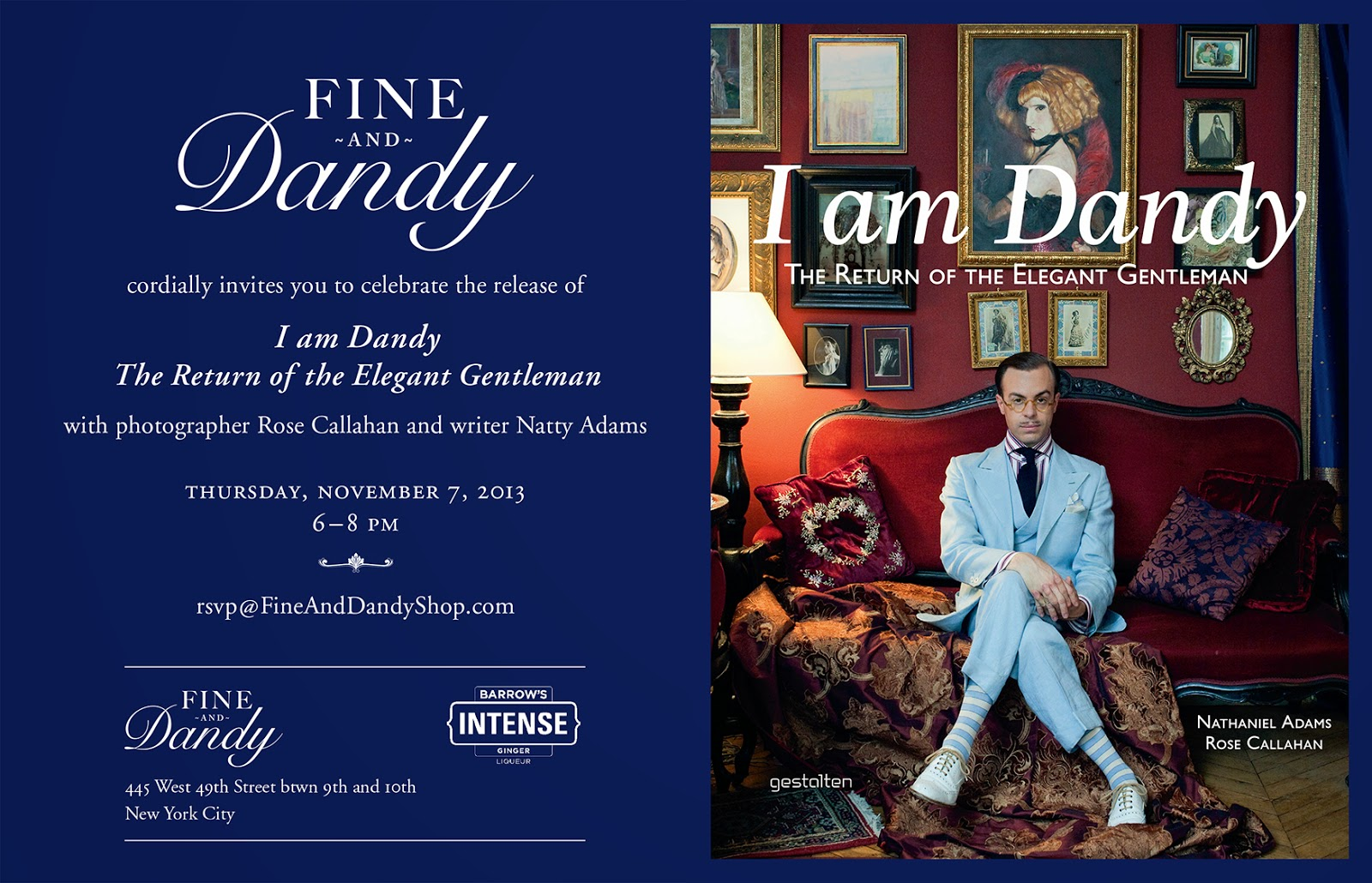 Fine And Dandy Shop: I am Dandy: The Return Of The Elegant ...