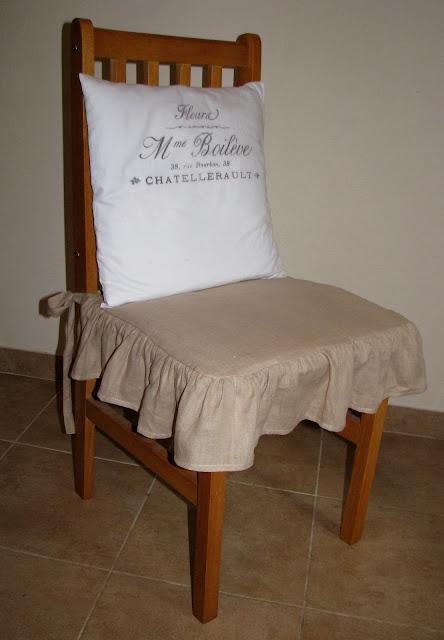 Zamiast Ubranko Na Krzesła I Milin