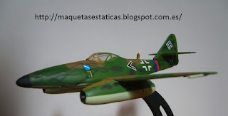 Messerschmitt Me 262 Schwalbe model Italeri 1:100