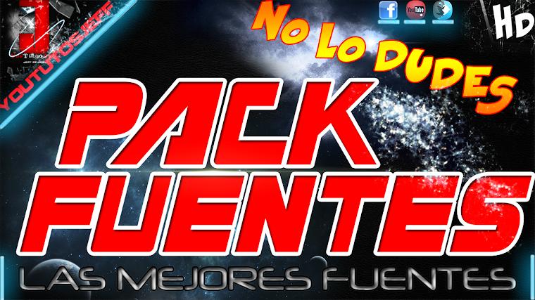 PACK DE FUENTES PARA PC | 2015