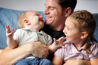 ayah dan anak lucu
