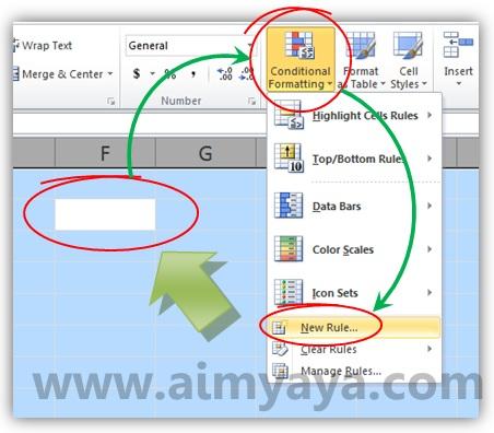Gambar: Contoh sel error yang ditandai dengan warna merah secara otomatis di Microsoft Excel