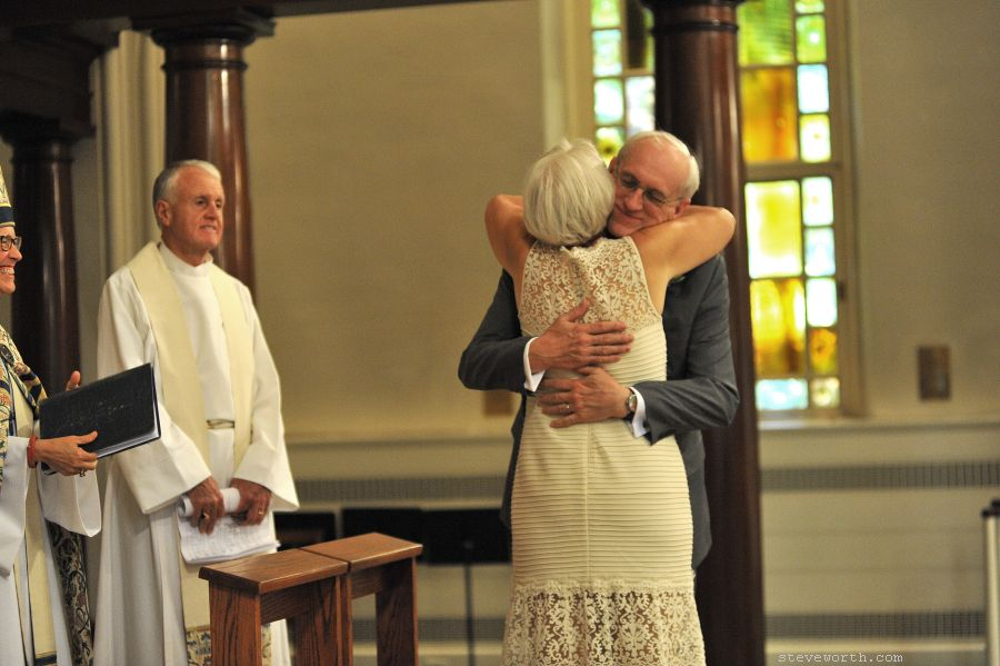 End of Wedding Ceremony - St. Luke NYC