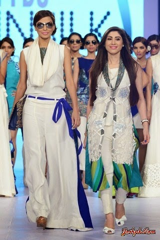 Teena By Hina Butt Collection At PDFC Sunsilk Fashion Week 2014