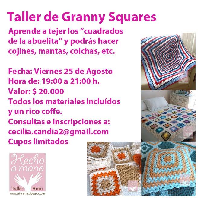 "3º Taller de Crochet Básico ""Grannys"""