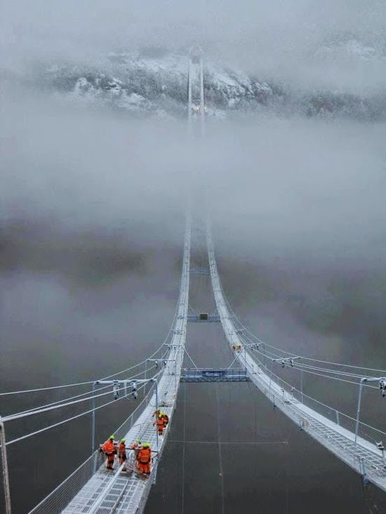 Hardanger Bridge, Norway - Most Beautiful Places You Must Visit Before You Die