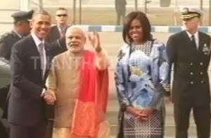 """Special Report on """"US President Barack Obama's Three Days India Visit"""