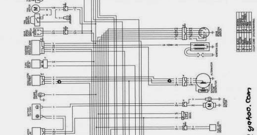 skema kelistrikan motor cs1 rh skema kelistrikan motor blogspot com Honda Motorcycle Wiring Color Codes Schematic Diagram Honda