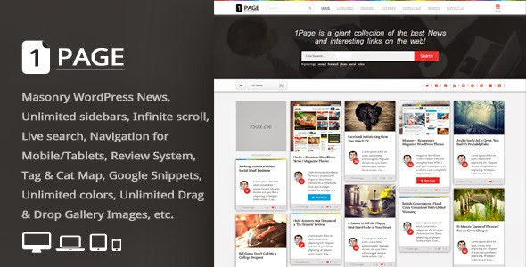 Premium Auto post WordPress theme