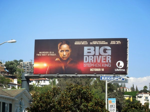 Stephen King Big Driver TV movie billboard