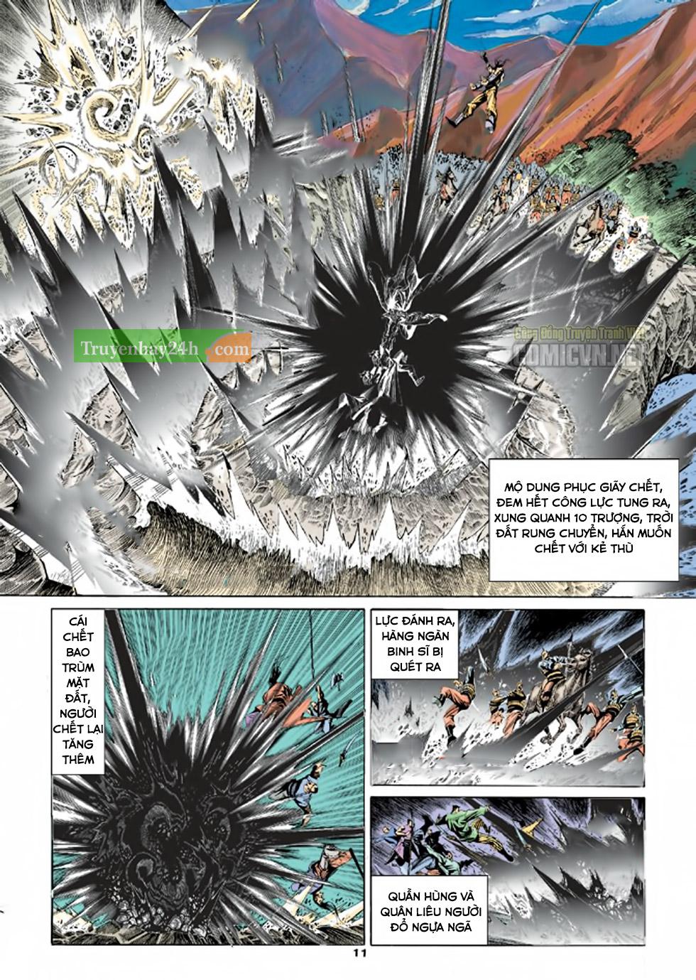 Thiên Long Bát Bộ chap 100 – End Trang 12 - Mangak.info