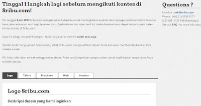 Bagian test di sribu.com