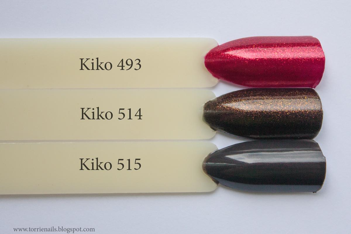 Kiko 493  Kiko 514 Kiko 515