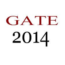 GATE Notification 2014