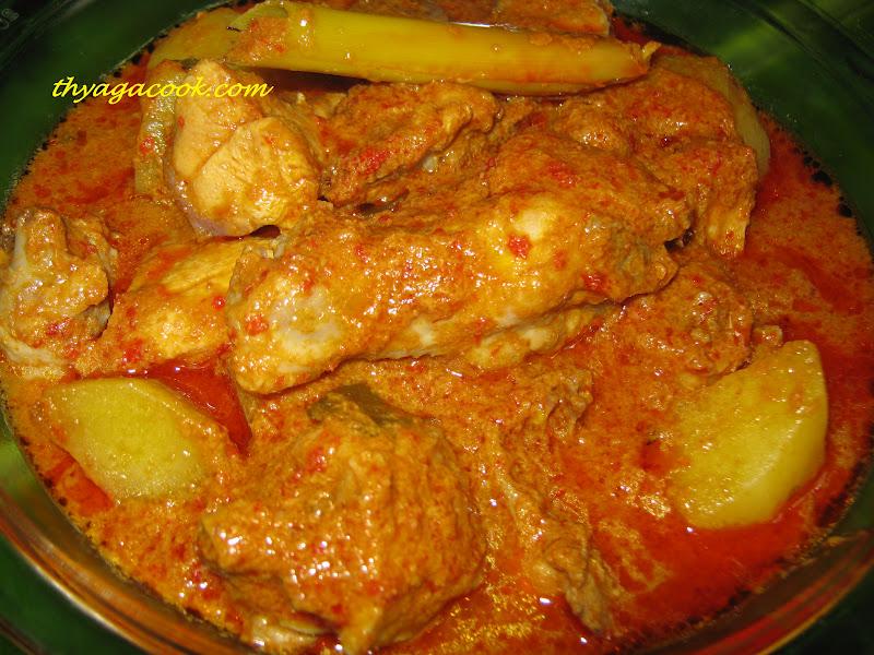 KARI LEAFS Malaysian flavoursGULAI AYAM (MALAY CHICKEN CURRY)