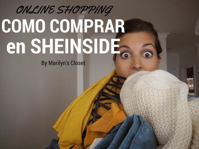 7df5b0b949 Marilyn s Closet - FASHION BLOG  Guía para comprar en Sheinside ...